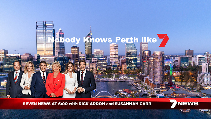 SEVEN NEWS with RICK ARDON and SUSANNAH CARR
