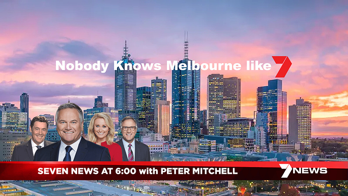 SEVEN NEWS with PETER MITCHELL