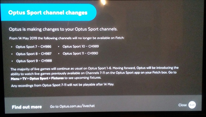 Fetch Tv Optus