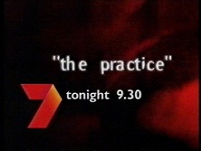 Channel Seven - Promo Endtag - The Practice (March 2000)