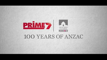 Prime7 - Special '100 Years Of ANZAC, Australia Remembers' Ident (February 2015) #1