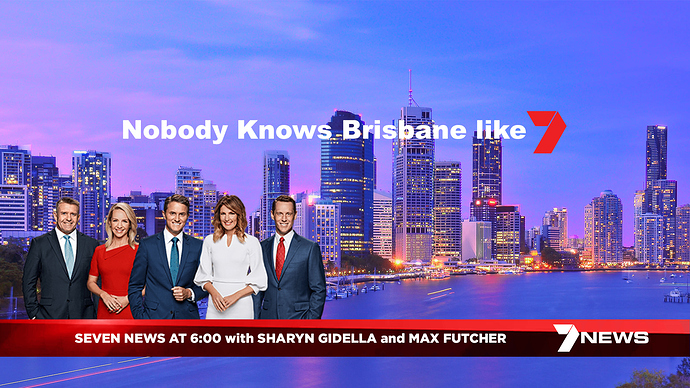 SEVEN NEWS with SHARYN GIDELLA and MAX FUTCHER