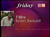 Channel Nine - Promo - Burke's Backyard (May 1996) #2
