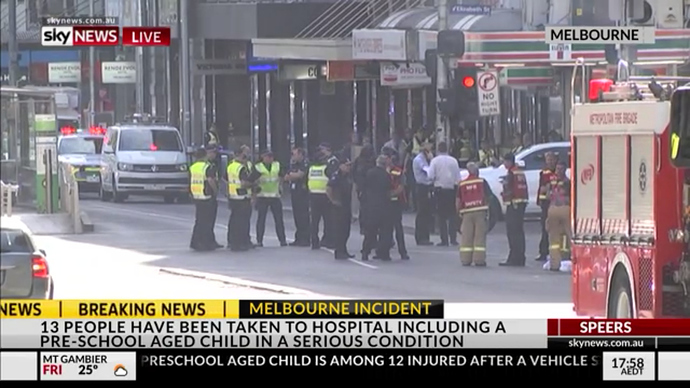 Incident at Flinders Street Station (Melbourne) - General