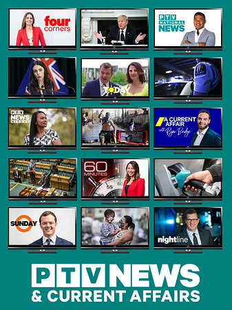 PTV Network 'News & Current Affairs' (Poster)