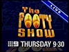 Channel Nine Sydney - Promo Endtag - The Footy Show (May 1996)
