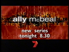 Channel Seven - Promo Endtag - Ally McBeal (March 2000)